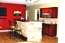 Amazing Basement Bar Ideas Stone With Granite Countertops And