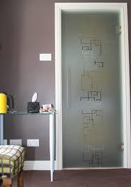 glass door. Bespoke Etched Glass Doors Door