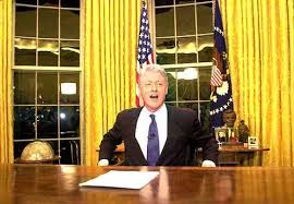president in oval office. Photo: President Clinton Sits In The Oval Office Of / LJWorld.com L