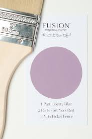 Mixing Custom Colours With Fusion Mineral Paint My Painted