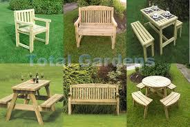 athol garden furniture chunky wooden bench a frame pub bench round picnic bench