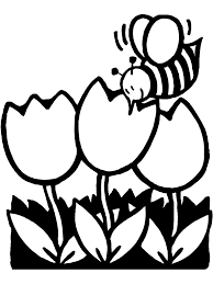 Coloring Pages Spring Break With Kids And Spring Rain Coloring Page