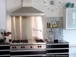 Stainless Kitchen Backsplash Best Kitchen Places