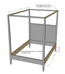 Simple - Build a Hannah Canopy Bed - Full Size | Kids Bedroom Tutorials