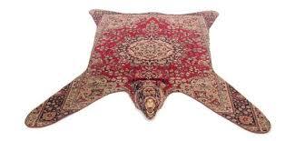 faux animal rug bearskin free zebra nz