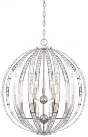 3 6 light orb chandelier
