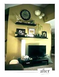 wall decor around tv wall decor above around how to decorate decorations best behind television d