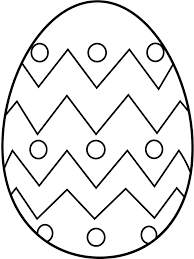 Easter Egg Coloring Pages Printable Free Home Sheets Design Julie