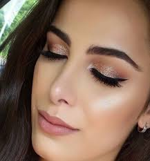 you can use metallic shadows in the inner portion of your eye led or in the center of the led for a hallow makeup look these types of eye shadows are