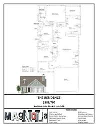 magnolia homes floor plans. From Magnolia Homes, Waco TX (Joanna Gaines Of Fixer Upper) RESIDENCE FLOOR PLAN Homes Floor Plans N