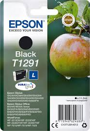 Картридж <b>Epson T1291</b> (<b>C13T12914012</b>), <b>черный</b>, для струйного ...