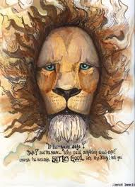 i love this like aslan god is not easily fit into a box he is the allegory the allegory narnia