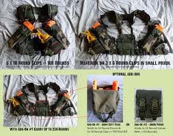 Nerf Magazine Holder Tactical Vest Heavy Gunner NERF Mag Pouch by MarcWF on DeviantArt 61