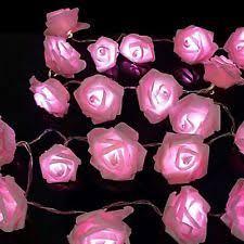 fairy lights ebay uk. sentik 20 pink led string rose flower fairy lights indoor christmas bedroom ebay uk