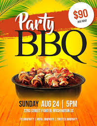Barbecue Flyers Barbeque Bbq Party Flyer Template Postermywall