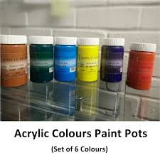 Test Paint Color Online Buy Bulk Cheap Artist Acrylic Paint Pot Colours At Wholesale Price
