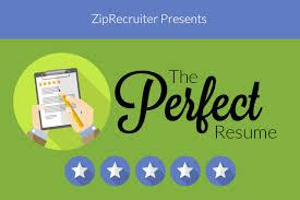 Ziprecruiter Resume Wonderful 2319 How To Write The Perfect Resume For Any Job