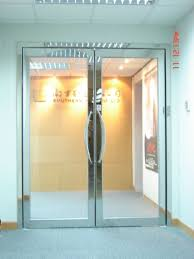 fire rated glass door system