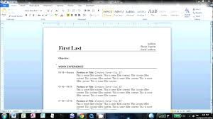 how to create resume in microsoft word free how to make a resume in word how to make an easy resume in