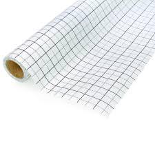 Birch Pattern Grid Translucent Tracing Paper Roll 80cm X 10m