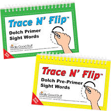 Trace N Flip Dolch Pre Primer And Primer Sight Words Kit
