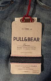 Clothing Tag Label Design Pull Bear Hangtag Tags Labels Clothing Tags Label