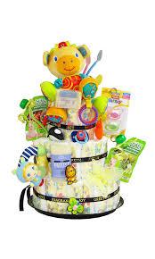 new born diaper cake