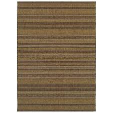allen roth fulbeck natural rectangular machine made inspirational area rug common 7