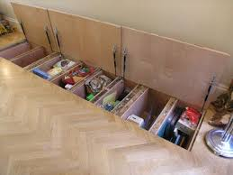 How To Make Hideaway Storage Compartments in the Floor | Secret storage,  Storage and Learning