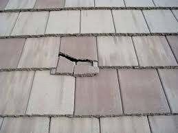 interior damage is a possibility from as little as a single broken roof tile