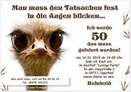 Suchergebnis Auf Amazonde Für Einladungskarten 50 Geburtstag