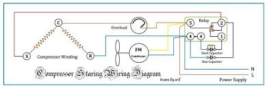 wired connection tecumseh compressor refrigeration & air conditioning Embraco Compressor Wiring Diagram tecumseh compressor wiring