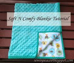 how to sew a baby blanket for beginners