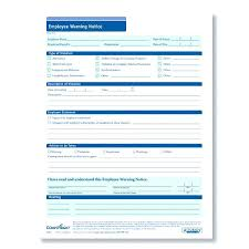 Form Written Warning Employee Template Fresh Notice Early Nec3 ...