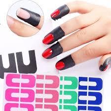 2019 New U Shaped Practical Nail Polish Spilling Nails Nail Protection Sticker