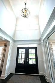 foyer chandelier foyer lighting ideas 2 story foyer lighting chandeliers 2 story foyer chandelier how high
