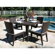 hospitality rattan outdoor furniture hospitality rattan soho wicker 5 piece side chair dining set decorating with