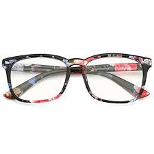 Versace Blue Light Glasses Slocyclub Blue Light Blocking Glasses Vintage Nerd Square Keyhole Design Eyeglasses Frame For Women Men