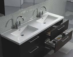 modern bathroom double sinks. Camino 59.5\ Modern Bathroom Double Sinks I
