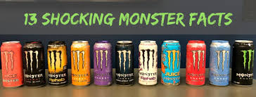 Sugar Content In Drinks Chart Uk Top 13 Insane Monster Energy Drink Facts Delishably