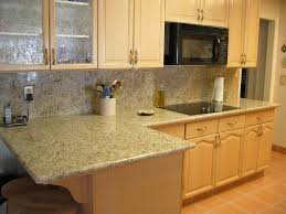 Granite Countertops In Kitchens Granite Kitchen Countertops Polar Cream Granite Countertops View