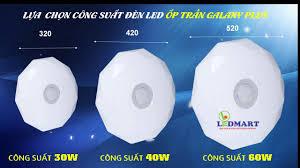 Đèn led ốp trần Galaxy TLC TT-ONG-30w - Đèn led chính hãng chất lượng cao  giá thành hợp lý