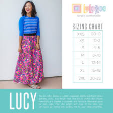 Lola Sizing Chart Lularoe Styles And Size Charts For Women Lularoe By Angela Peacor