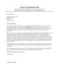 Sample Medical Resume Cover Letter Physician Cover Letters Physician Cover Letter Sample Medical Cover