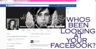 find out who s been looking at your facebook profile 2014