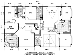5 bedroom mobile home plans homes floor