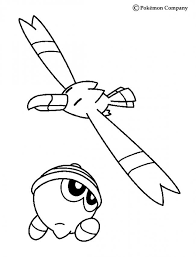 pokemon n deg 21 source ghn0k kirlia, flygon and salamence coloring pages hellokids com on flygon coloring pages