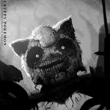 be very afraid pokemon re imagined as monsters from your scariest   david szilagyi