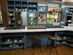 On The Set Of The Kitchen The Kitchen Food Network Food Network Cool One Wall Kitchen Designs Set