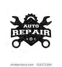 auto mechanic logo vector. Modren Logo Car Logo Vector Illustration Repair Monochrome Emblem To Auto Mechanic C